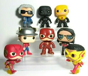 THE FLASH TV SHOW FUNKO POP LOT REVERSE ZOOM KID CAPTAIN COLD VIBE JAY GARRICK