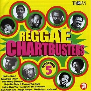 Reggae Chartbusters Vol. 5 - Various Artists - CD - New