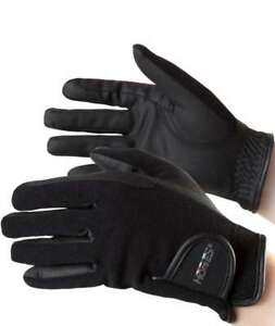 Unisex winter gloves ideal for British riding model Innsbruck Horses