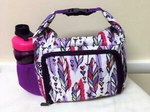 Fit & Fresh Feather Toss Insulated Lunch Box Bag  w/ Containers Food Storage