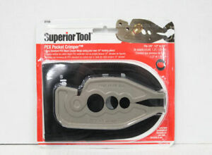 Superior Tool 07100 Pex Pocket Crimper  $22.99