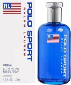 POLO SPORT by Ralph Lauren cologne for men EDT 4.2 oz New in Box $52.10