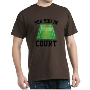 CafePress See You In Court Dark T Shirt 100% Cotton T Shirt 2041048900