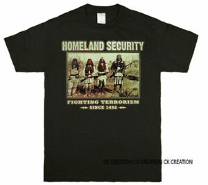 Native American Fighting Terrorism Since 1492 Graphic T shirts Tank Top $11.99