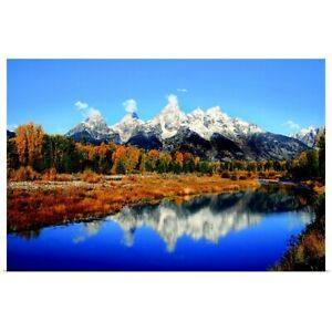 Schwabacher Landing Poster Art Print Mountain Home Decor