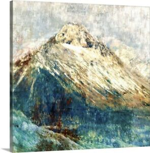 Mountain I Canvas Wall Art Print Mountain Home Decor
