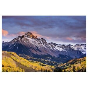 Mountain Foliage II Poster Art Print Mountain Home Decor
