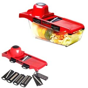 Vegetable Slicer Fruit Food Cutter Peeler Dicer Grater Chopper Nicer 10 in 1