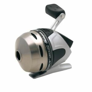 Shakespeare Synergy Steel Size 6 Spincast Fishing Reel w 6 lb Test Stren Line