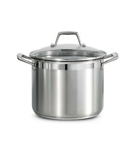 Tramontina 8 Qt. Stainless Steel Lock N Drain Pasta Cooker FREE SHIPPING