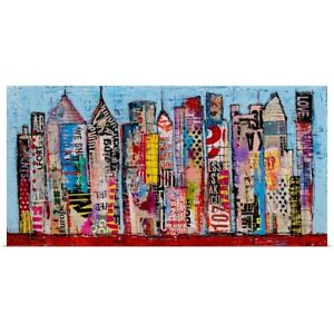 Word in the City Poster Print