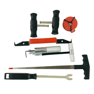 7 pc Professional Windshield Removal Automotive Wind Glass Removal Tool Kit