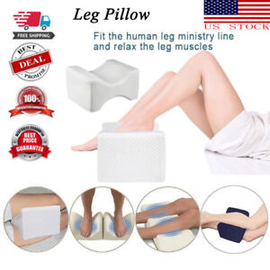 Memory Foam Leg Pillow Cushion Massage Hips Knee Support Pain Relief Orthopaedic