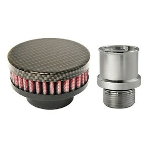 Valve Cover Breather Oil Cap Holley LS CAST ValveValley Covers (Hydro Carbon)  $84.95