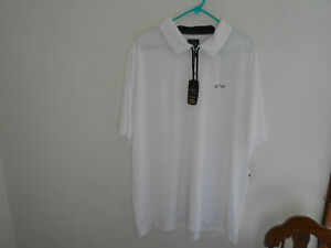 Greg Norman Tasse Ella Rapivent Dri Fit Golf Shirt XXL 2XL NWT NEW $59.99