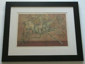 Frederic Bouche VINTAGE LITHOGRAPH ABSTRACT CUBISM French MODERNISM NUDE SIGNED $330.00