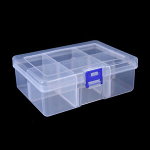 big 6 compartments fishing lure tackle hook bait storage box container case EPEC