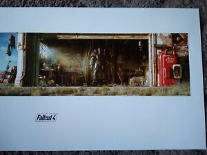 Fallout 4 Limited Edition Lithograph