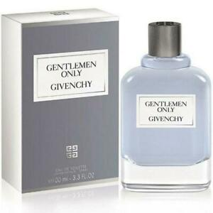 GENTLEMEN ONLY by Givenchy edt men Cologne 3.4 oz 3.3 oz New in Box $44.09