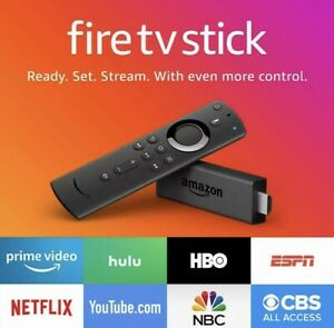 LOT OF 10 Amazon Fire TV Stick 2019 2nd Gen wAlexa Remote