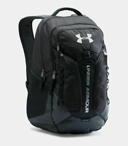 Under Armour 1277418-001 Backpack UA Storm Contender  Black  Holds 15