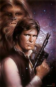 Star Wars Han Solo and Chewbacca