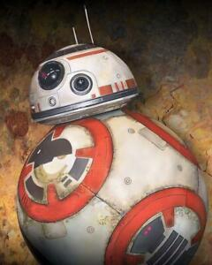 Star Wars The Force Awakens BB-8 Giclee on Canvas by Kevin Graham