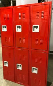 New 6 Red Lockers - 15