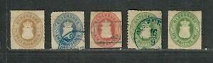 German States Oldenburg Stamp Collection High C.V. Mixed Condition