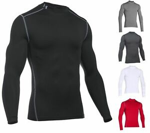 Under Armour Mens UA ColdGear® Armour Compression Mock 1265648 $34.99