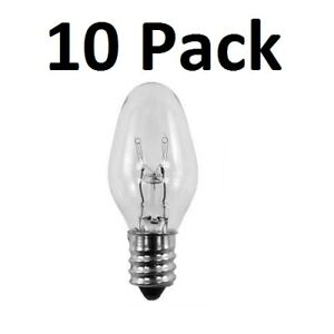Bulbs 15 watt for Scentsy Wax Warmer Light Bulb 10 Pack Plug In Warmers