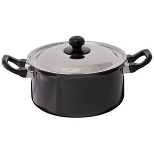 Futura Induction Future Nonstick Induction Base Stewpot with Steel Lid, 3 L, Sm