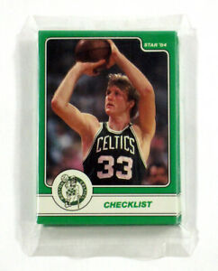 1984 Star Larry Bird Complete Sealed Bag Set 18