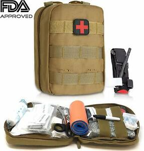 Emergency Trauma Tactical Kit -First Aid - Survival Gear Kit Medical-Ships Free