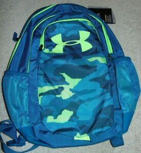 ~NWT Boys UNDER ARMOUR Scrimmage Storm Camo Backpack!! Nice FS~