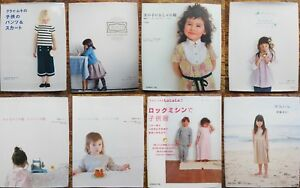 Japanese sewing pattern books you choose girls clothing out of print $19.99
