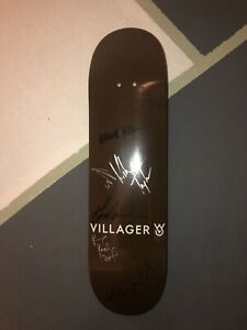 RARE signed Villager Goods skateboard deck. P-Rod Guy Mariano Mikey Taylor etc