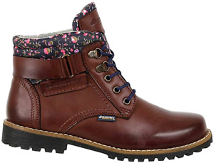 Discovery EXPEDITION Womens Ankle High Outdoor Boot wFashion Patterened Trim