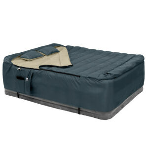 Navy Blue Queen Bed-in-a-Bag W Pillow 50 Degrees Outdoor Hiking Camping Gear