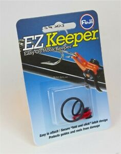 Fuji Fishing Casting Lure E Z Hook Keeper Red Carded w 2 O Rings EHKM RC