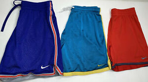 "Nike Dri-Fit Men's 5"" Breathable Mesh Running Shorts (Size S) Lot Of 3"