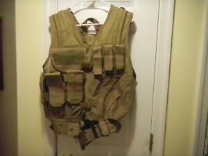 USA Tactical Military Vest Marine Paintball Airsoft Combat Vest Adjustable NEW