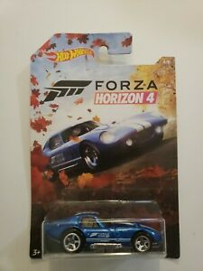 🔥🔥2019 Hot Wheels Forza Horizon 4 #4 Shelby Cobra Daytona Coupe 🔥🔥