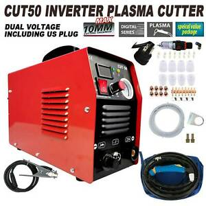 50 AMP Plasma Cutter CUT50 Welding Cutting Machine Digital Inverter 110 220V USA $189.40