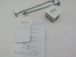 WAC Lighting InvisiLED Power Feed for Recessed Channel with Junction Box White