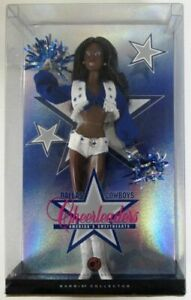 Barbie Dallas Cowboys Cheerleader African American Doll (Pop Culture Dolls Col..