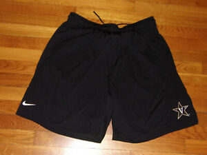 NIKE DRI-FIT VANDERBILT COMMODORES ATHLETIC SHORTS MENS 2XL NICE CONDITION
