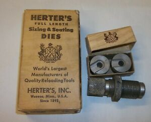 Herter's Full Length Sizing Seating Dies in Box