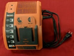 Ridgid Battery Charger Rapid Max 9.6V 12V 14.4V 18V Model No. 140276003