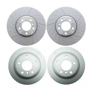Front & Rear Genuine Disc Brake Rotors Kit for BMW F30 F34 M Sport Brakes S2NHA.